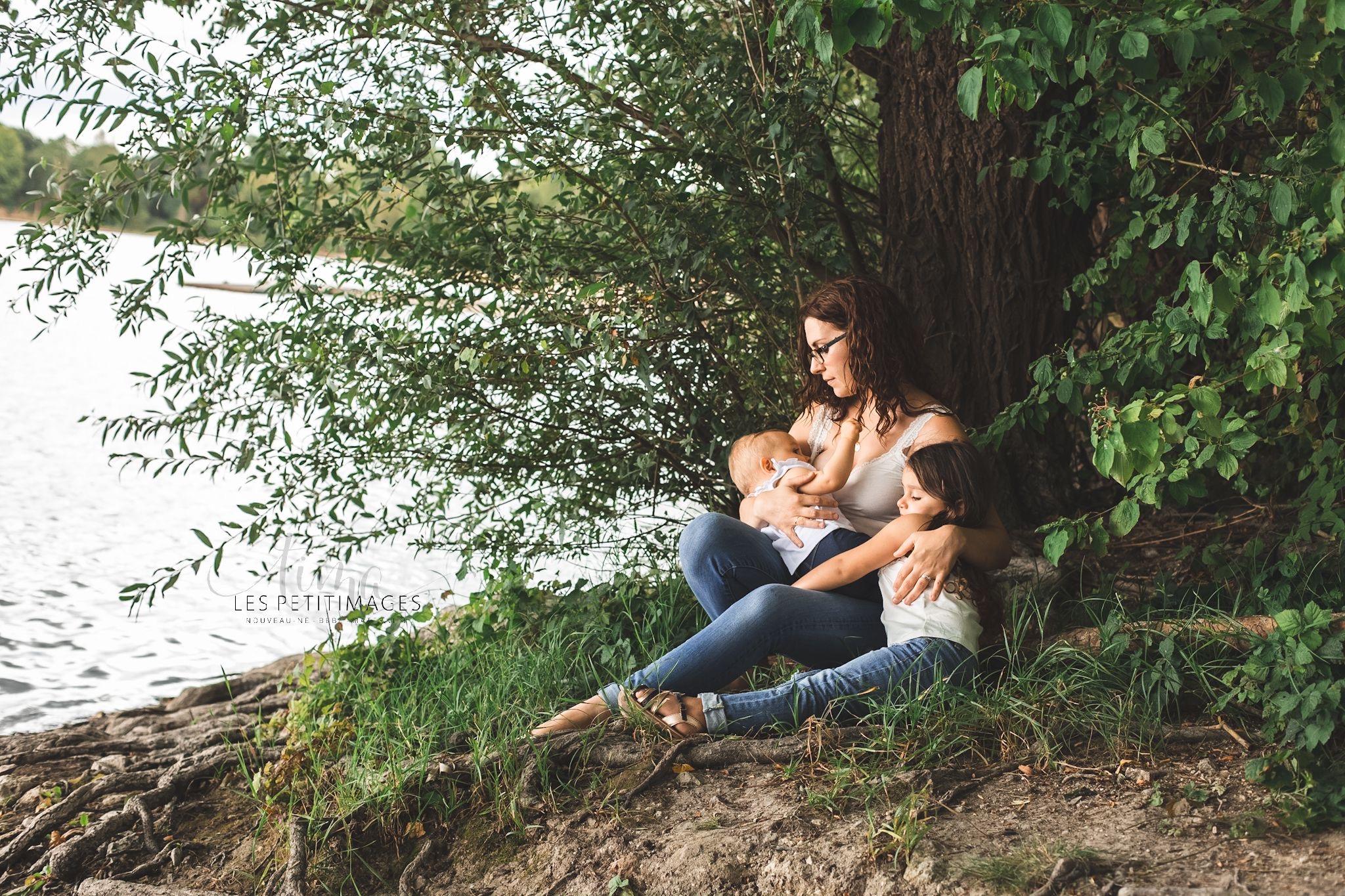 photo allaitement famille Orléans